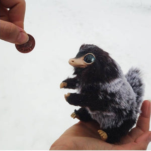 Baby Niffler posable art toy
