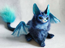 Load image into Gallery viewer, Bat-cat posable art doll