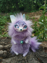 Load image into Gallery viewer, Purple cat-fox