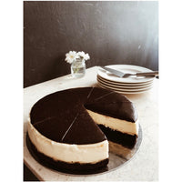 Çikolatalı Brownie Cheesecake