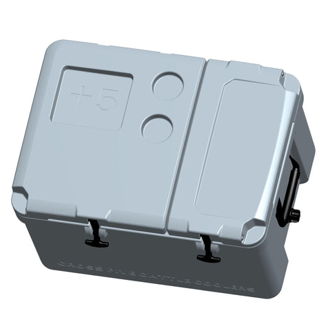 Dual Compartment Everyday Use 53 Qt. Cooler