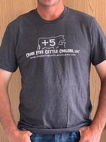 Cross Five Cattle Coolers Men's Tee