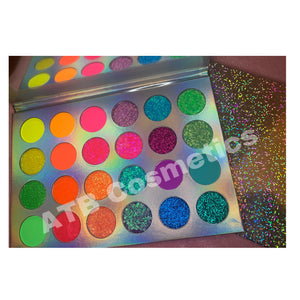 Rainbow 🌈 Eyeshadows Palette 🎨