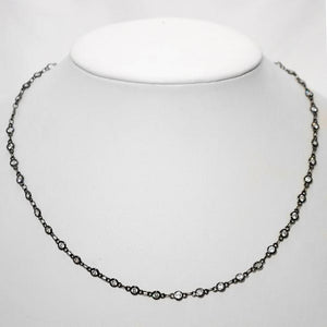 Classic!! Bezel Set Cubic Zirconia Necklace; 18""