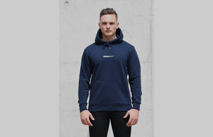 L'OMBRE Blanche French Navy Hoodie - L'OMBRE Blanche