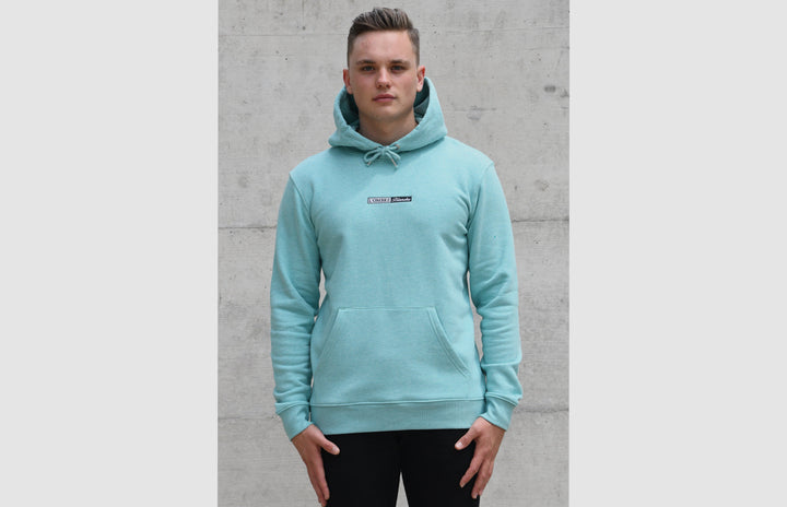 L'OMBRE Blanche Mid Heather Green Hoodie - L'OMBRE Blanche