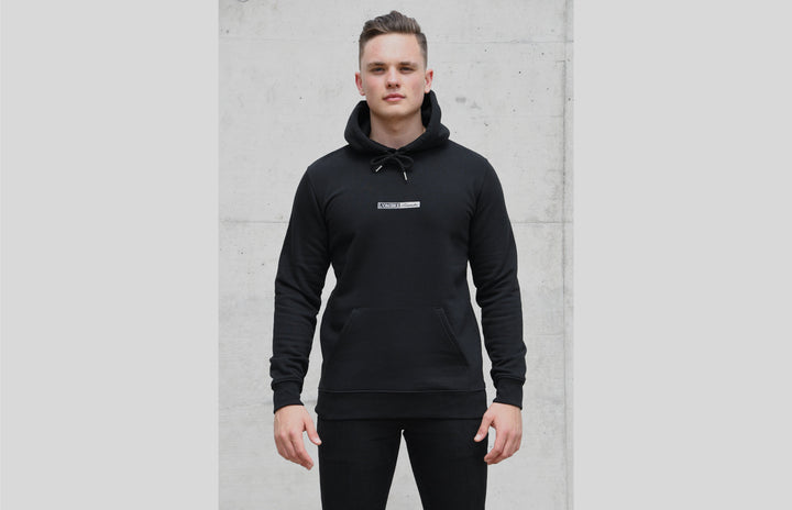 L'OMBRE Blanche Black Hoodie - L'OMBRE Blanche