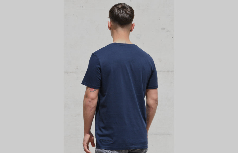 L'OMBRE Blanche French Navy T-Shirt - L'OMBRE Blanche