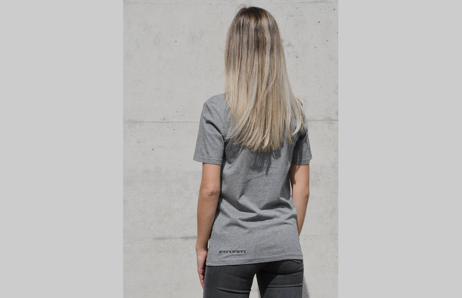 L'OMBRE Blanche Mid Heather Grey T-Shirt - L'OMBRE Blanche