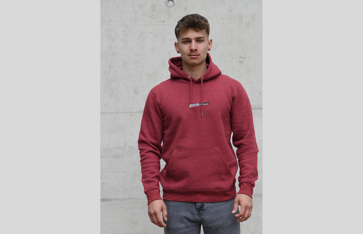 L'OMBRE Blanche Burgundy Hoodie - L'OMBRE Blanche