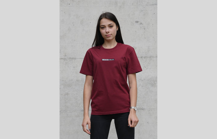 L'OMBRE Blanche Burgundy T-Shirt - L'OMBRE Blanche