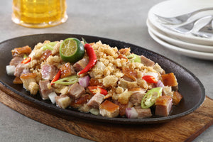 Lechon Belly Sisig