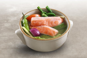 Sinigang sa Miso na Salmon Belly