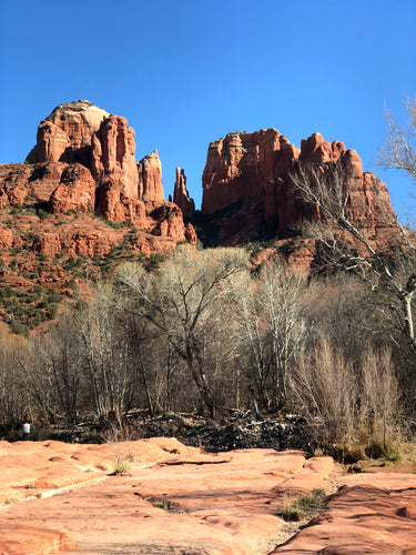 HIGH NOON AT CATHEDRAL ROCK
