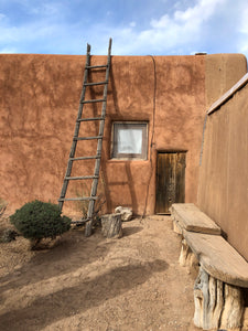 COURTYARD IN ABIQUIU