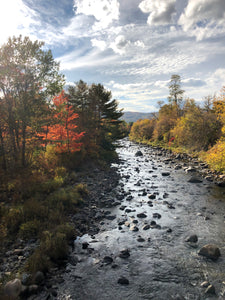 FALL ON THE AMMONOOSUC RIVER