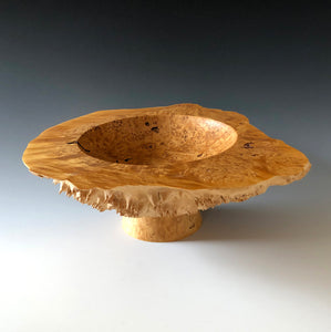 MAPLE BURL PRESENTATION VESSEL
