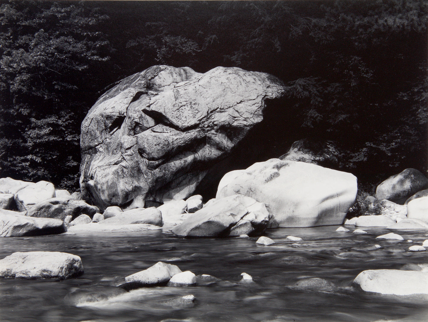 ROCKS ALONG THE SWIFT RIVER