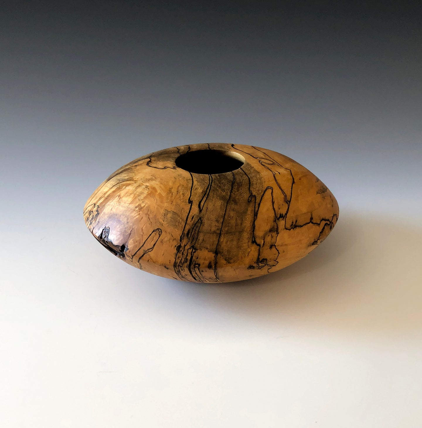 SPAULTED MAPLE HOLLOW-FORM BOWL