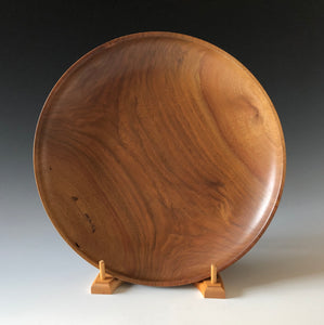 CLARO WALNUT SHALLOW BOWL