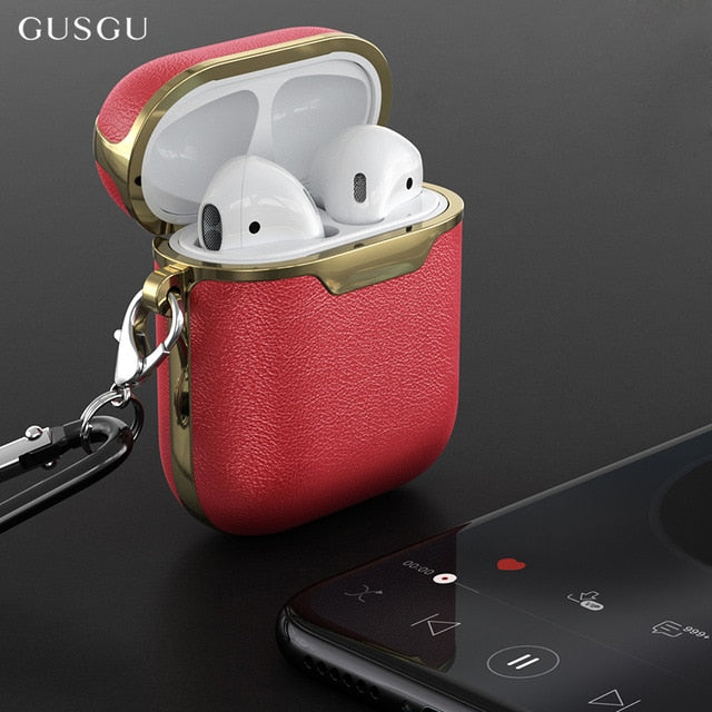 LEATHER- AIRPODS CASE