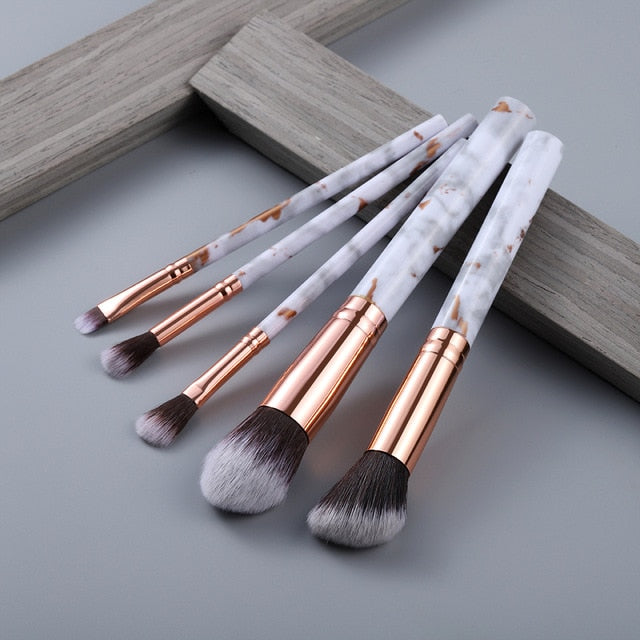 FLD MARBLE - BRUSH SET
