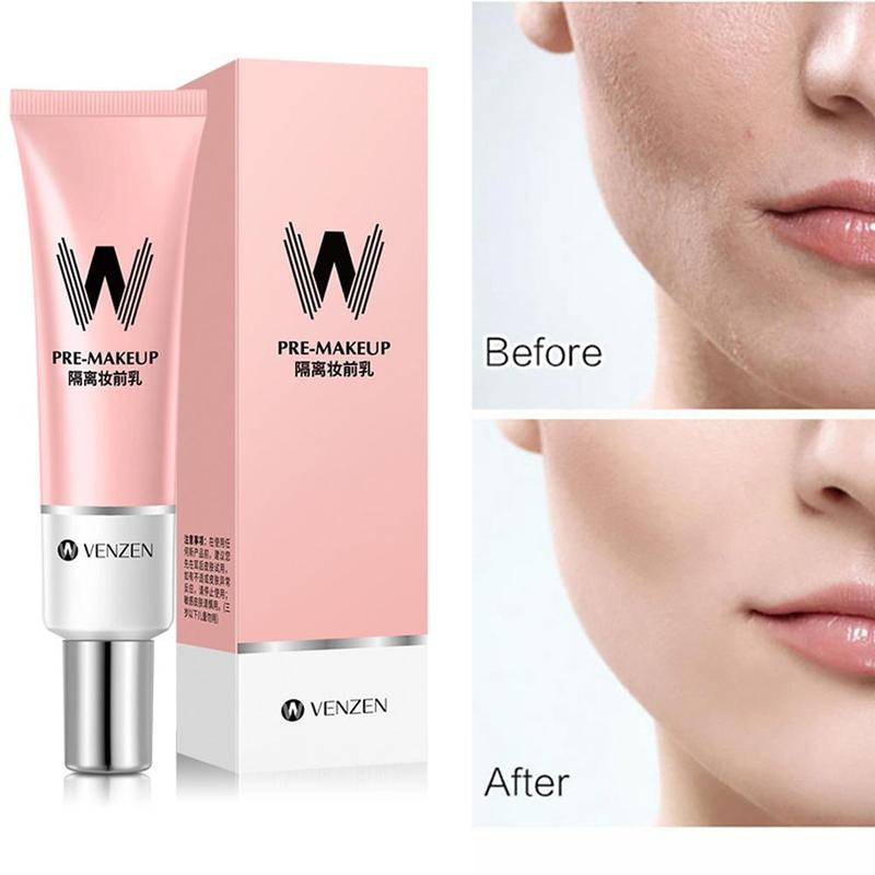 before and after venzen pore primer