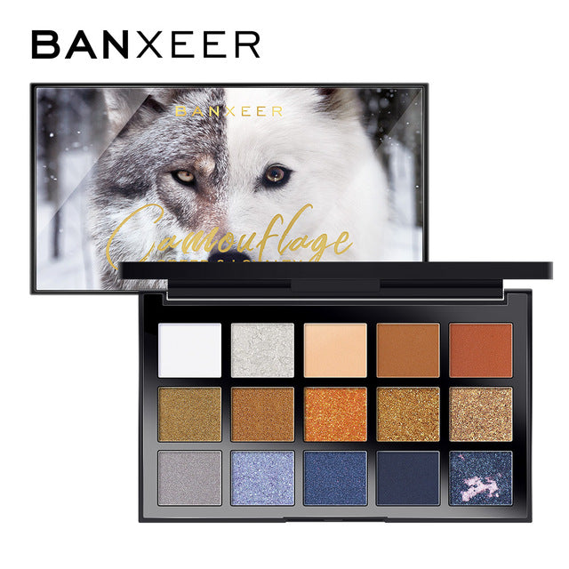 camouflage eyeshadow palette from banxeer