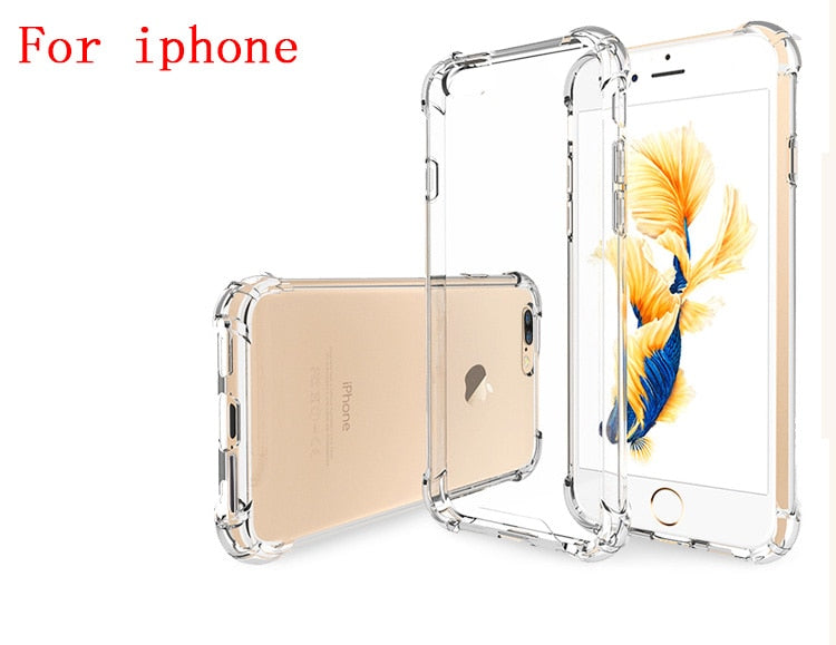 ULTRA THIN CRYSTAL CLEAR iPHONE CASE