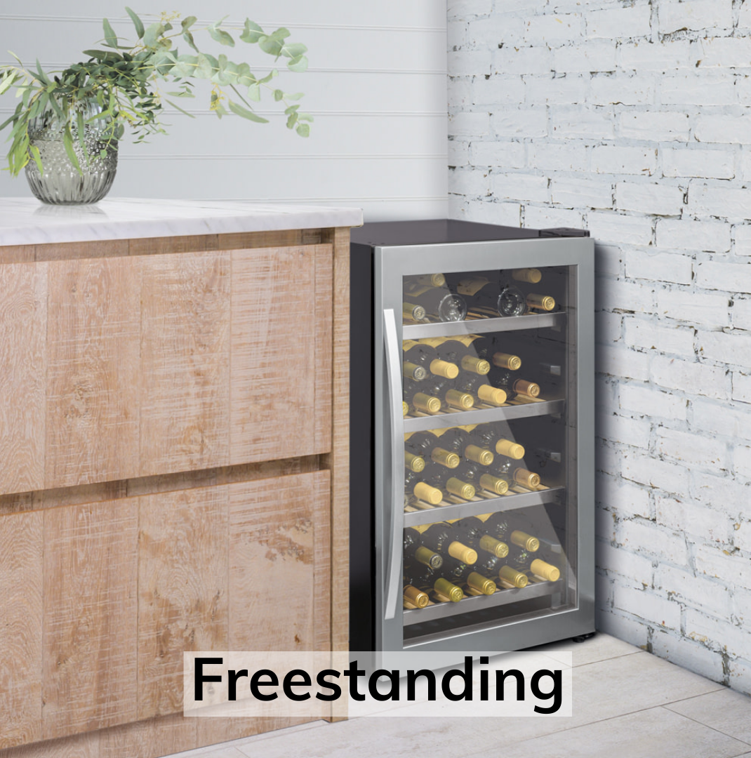 freestanding wine fridges ireland