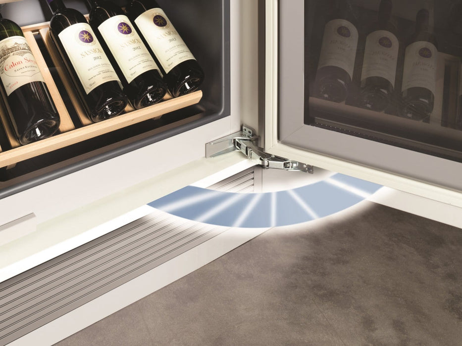 Liebherr EWTGB 3583 - 83 Bottle Fully Integrated Dual Temperature Zone Handleless Wine Cooler Media 6 of 7