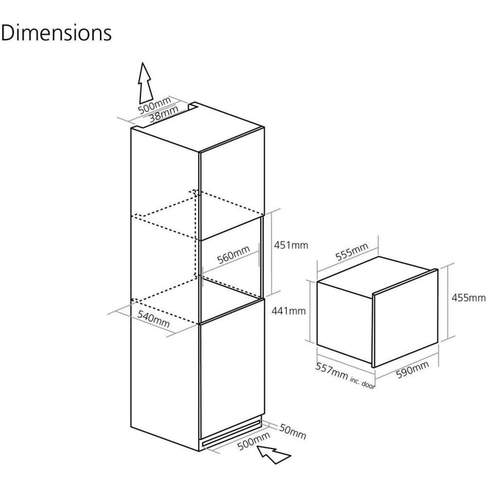 WC6410 dimensions