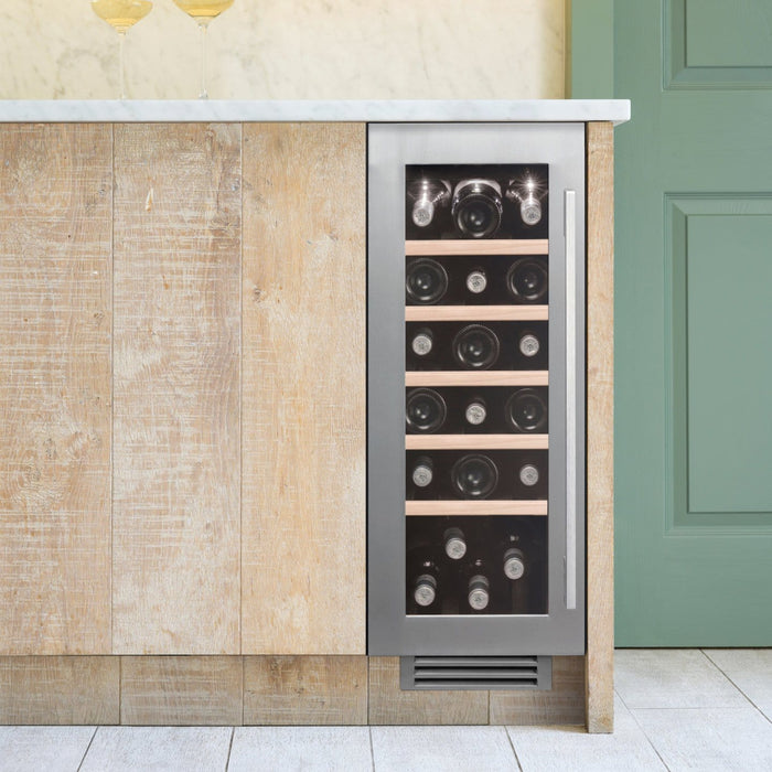 Caple Wi3123 - Built In Undercounter or Freestanding Single Zone Wine Cooler