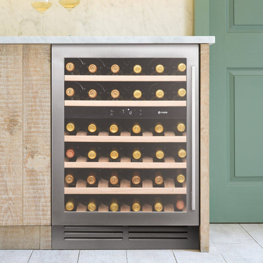 Caple Wi6135 - Built In Undercounter or Freestanding Dual Zone Wine Cooler