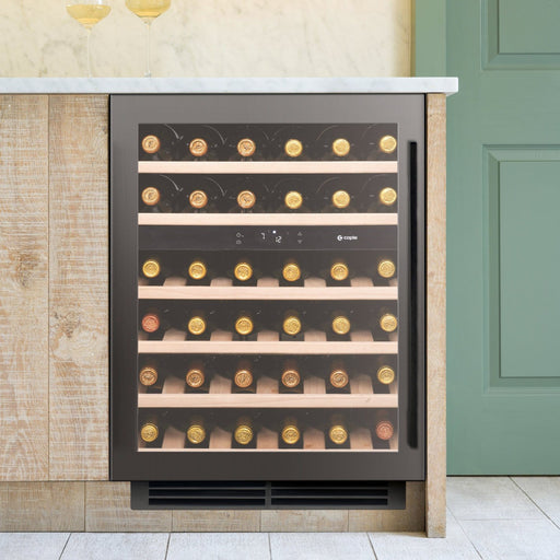 Caple Wi6133GM - Built In Undercounter or Freestanding Dual Zone Wine Cooler