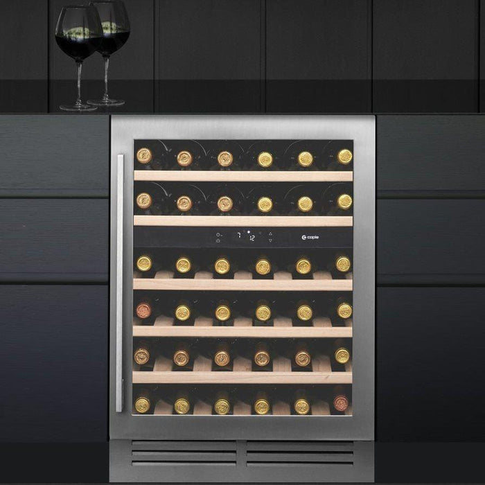 Caple Wi6135 - Built In Undercounter or Freestanding Dual Zone Wine fridge