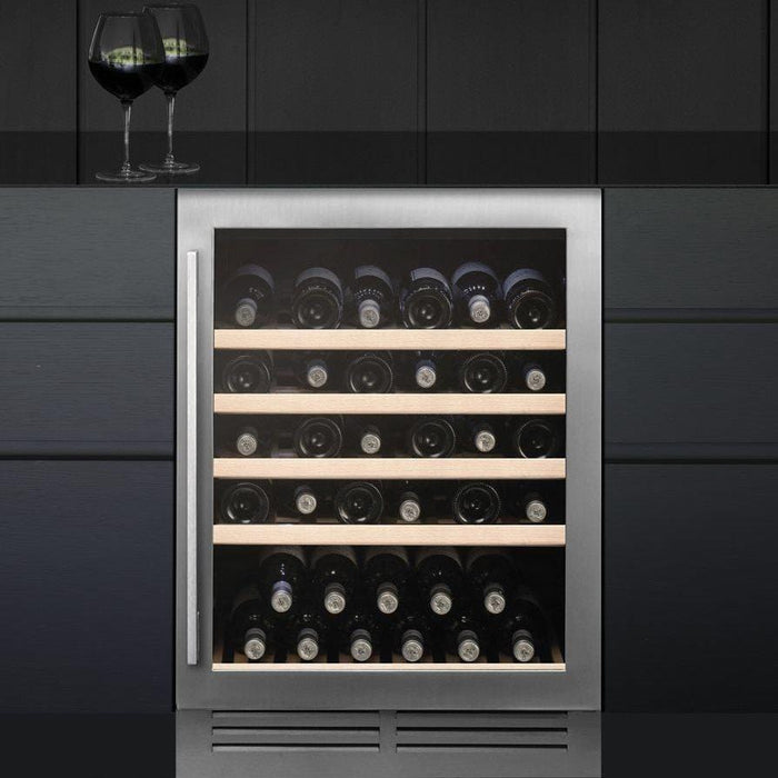 Caple Wi6142 - Built In Undercounter or Freestanding Single Zone Wine Cooler