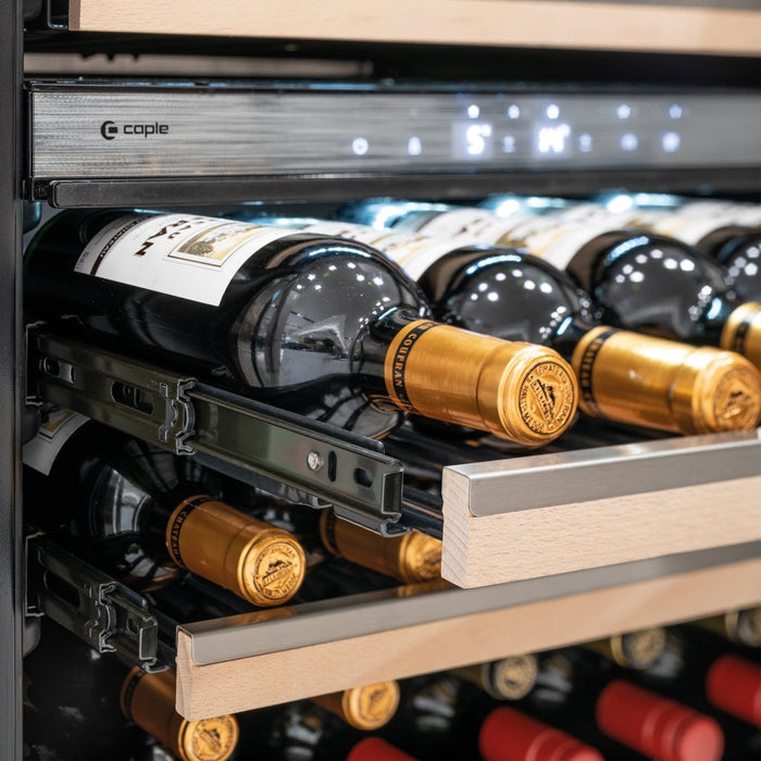Caple Wi6160 - Integrated Dual Zone Wine Cooler