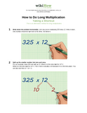 Learn Long Multiplication