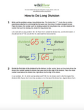 Learn Long Division