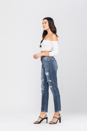 HW Distressed Boyfriend-82156