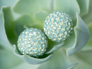 Open image in slideshow, Succulent Sparkle Ball™ Stud Earrings