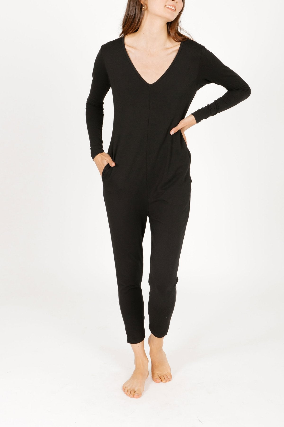 Smash + Tess Friday Romper-Black