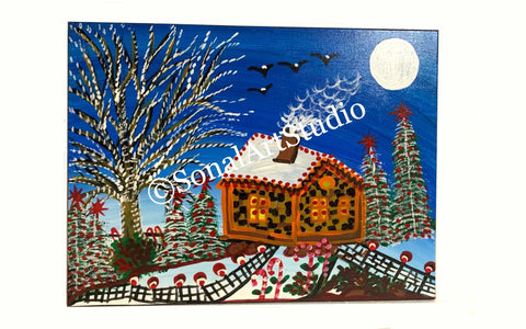 Holiday Gift Paintings