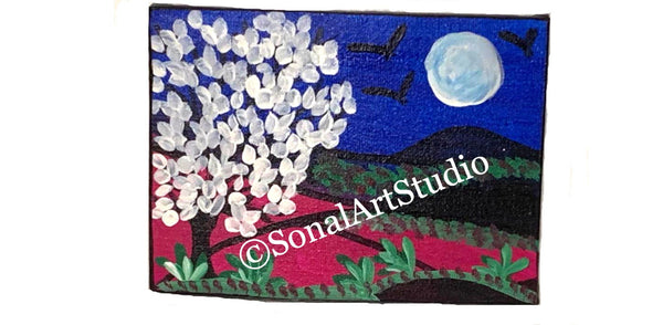 Moon Night - SonalArtStudio