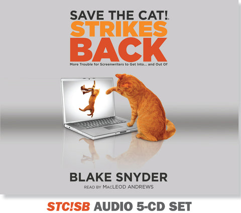 <i>Save the Cat!® Strikes Back</i> Audiobook - 5-CD Set