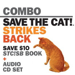 <i>Save the Cat!® Strikes Back</i> paperback and 5-CD set audiobook