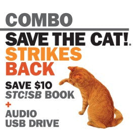 <i>Save the Cat!® Strikes Back</i> paperback and flashdrive audiobook