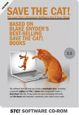 Save the Cat!® Story Structure Software 3.0 - CD-Rom