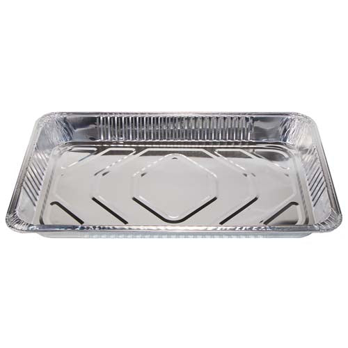 Full Size Medium Steam Pans (50 units) - 52.5cm x 32.5cm x 5cm - 110 g